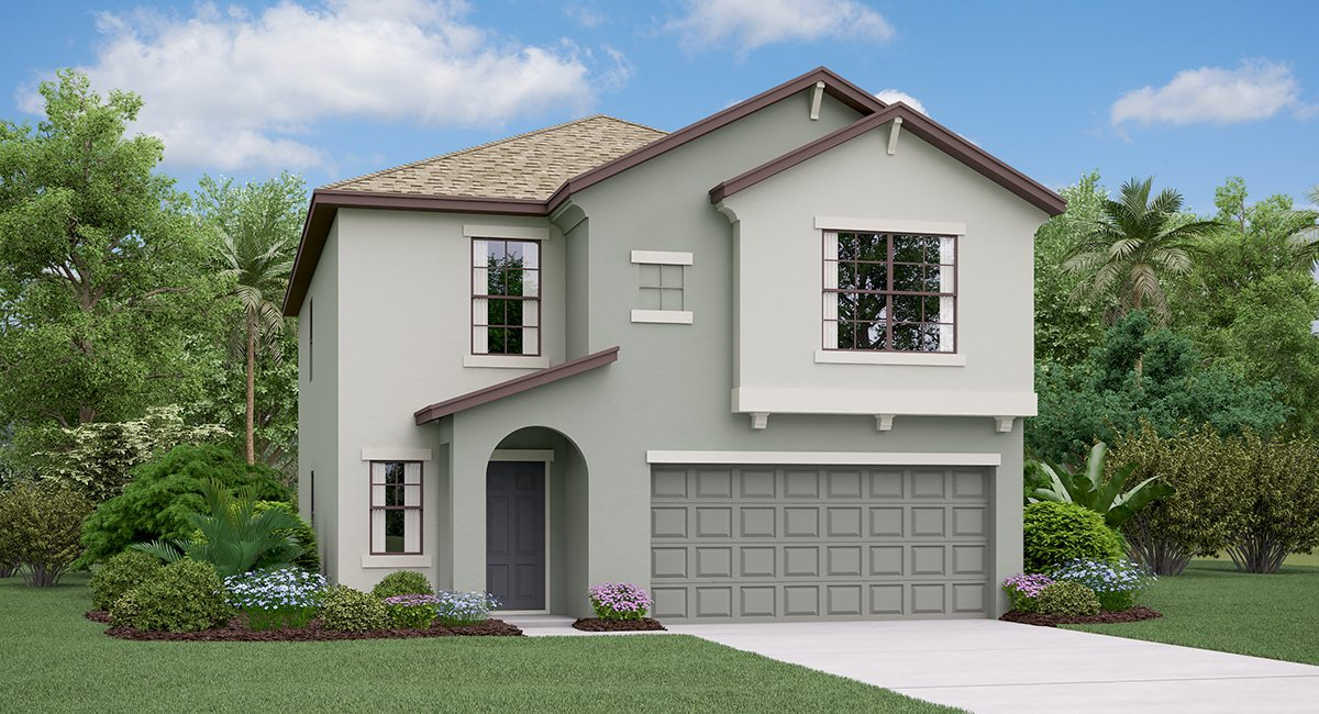Twin Creeks: The Boston Lennar Homes Riverview Florida New Homes Community
