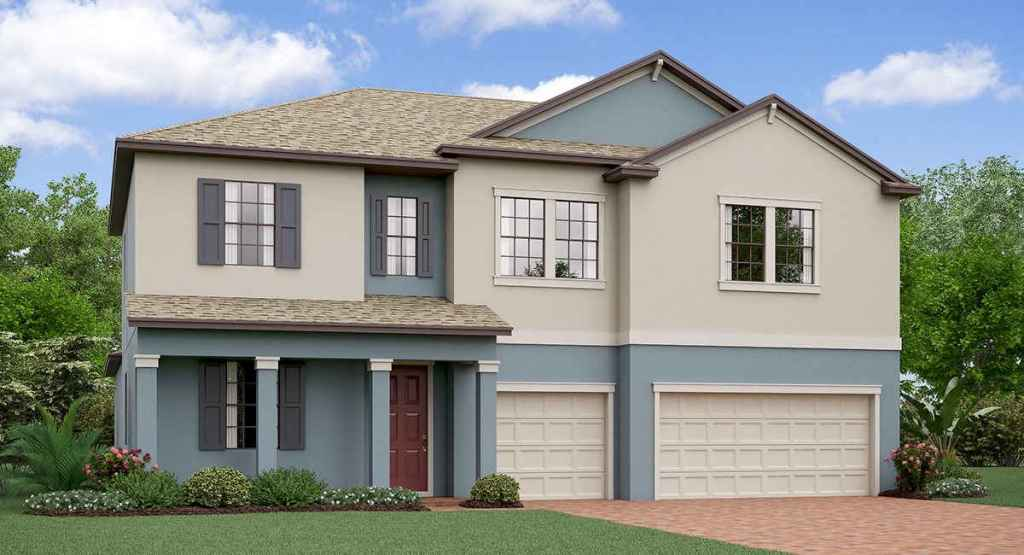 T​riple Creek​: The California​ ​Lennar Homes Riverview Florida New Homes Community
