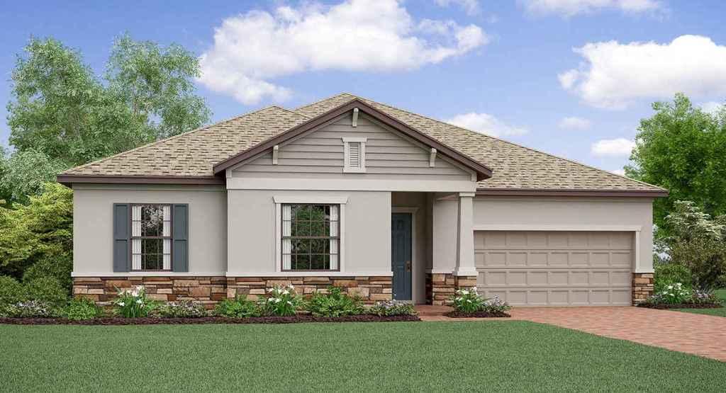 Triple Creek: The Oregon Lennar Homes Riverview Florida New Homes Community