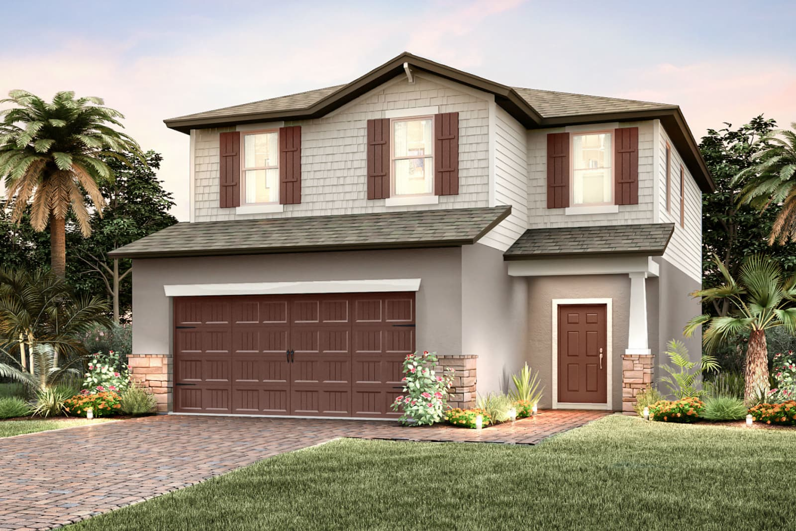 The Starboard At  Ventana Riverview Florida Real Estate   Riverview Realtor   New Homes for Sale   Riverview Florida