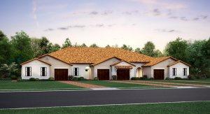 Aurora Medley at Southshore Bay: The Villas  Crystal Lagoons Wimauma Florida Real Estate | Southshore Bay Wimauma Florida
