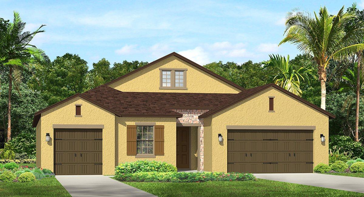 The Hamilton Model Lennar/WCI Homes Tampa Florida Real Estate | Ruskin Florida Realtor | Palmetto New Homes for Sale | Wesley Chapel Florida