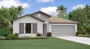 The Hartford Model Lennar Homes Tampa Florida Real Estate   Ruskin Florida Realtor   Palmetto New Homes for Sale   Wesley Chapel Florida