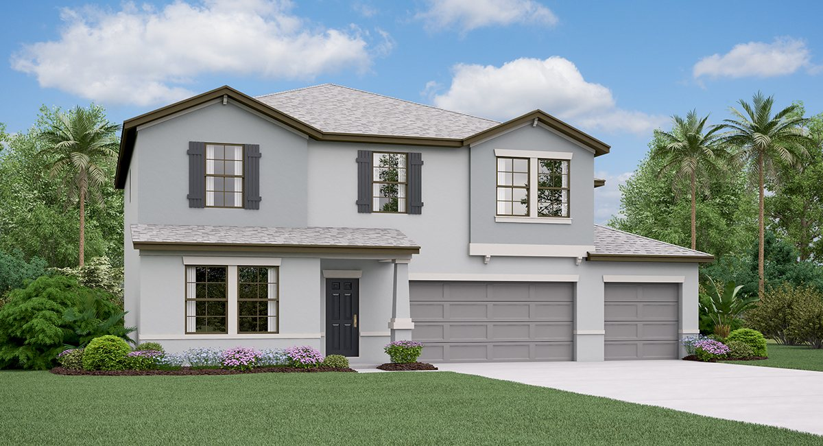 Belmont The Helena  Model Tour Ruskin Florida Real Estate | Ruskin Realtor | New Homes for Sale | Ruskin Florida