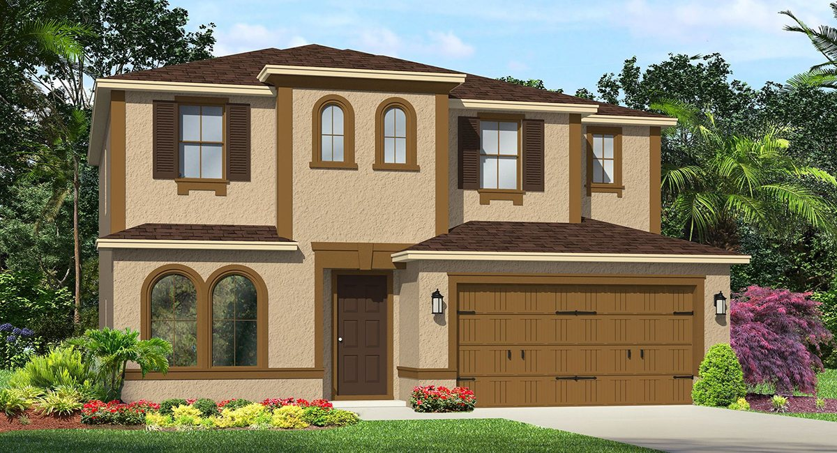 The Somerset II Model Lennar/WCI Homes Tampa Florida Real Estate | Ruskin Florida Realtor | Palmetto New Homes for Sale | Wesley Chapel Florida