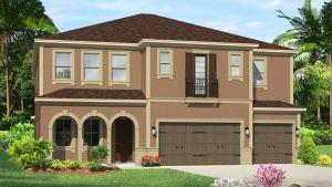 The Saratoga Model  Tour Lennar/WCI Home Riverview Florida