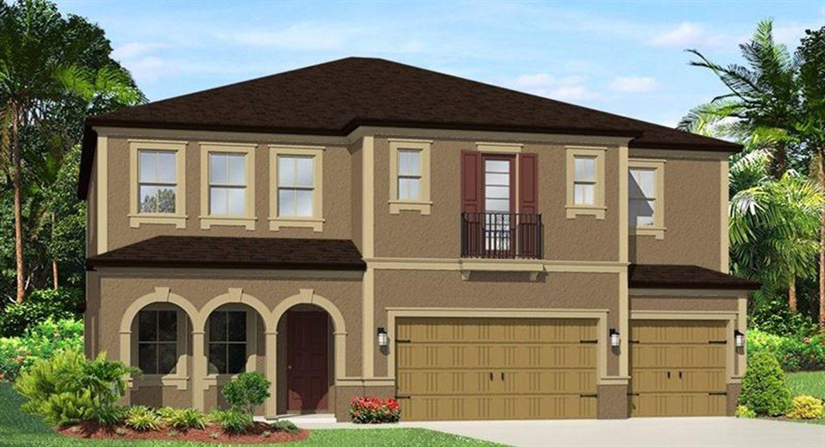 The Saratoga Model Tour WCI Homes Tampa Florida