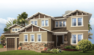 Cardel Homes Wilshire II Model Home MiraBay Apollo Beach Florida Real Estate | Apollo Beach Realtor | New Homes for Sale | Apollo Beach Florida