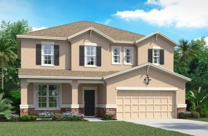 The Anna Maria | Beazer Homes | The Reserve at Pradera Riverview Florida Real Estate | Riverview Realtor | New Homes for Sale | Riverview Florida