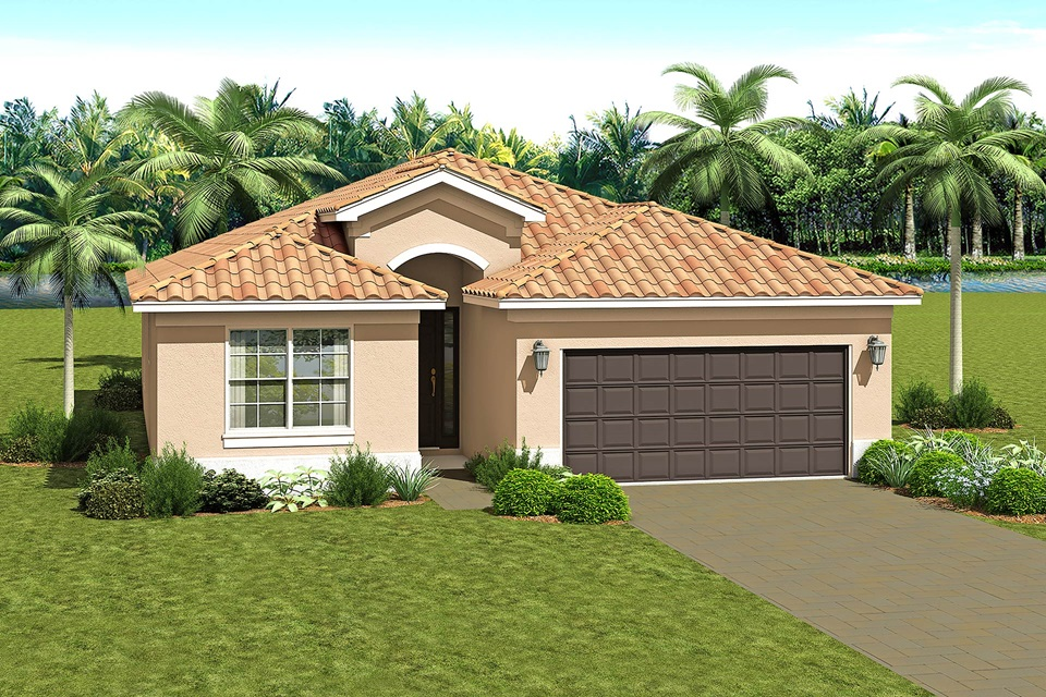 The Bella Model Home | The Vintage Collection at Valencia del Sol in Tampa, Florida