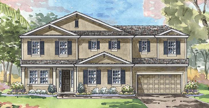 The CALADESI II | Homes By Westbay | WaterSet Apollo Beach Florida Real Estate | Apollo Beach Realtor | New Homes for Sale | Apollo Beach Florida