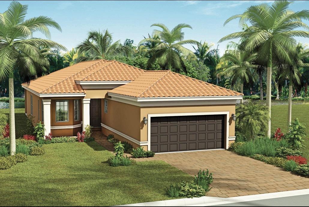 The Capri Model Home | The Signature Collection at Valencia del Sol in Tampa, Florida