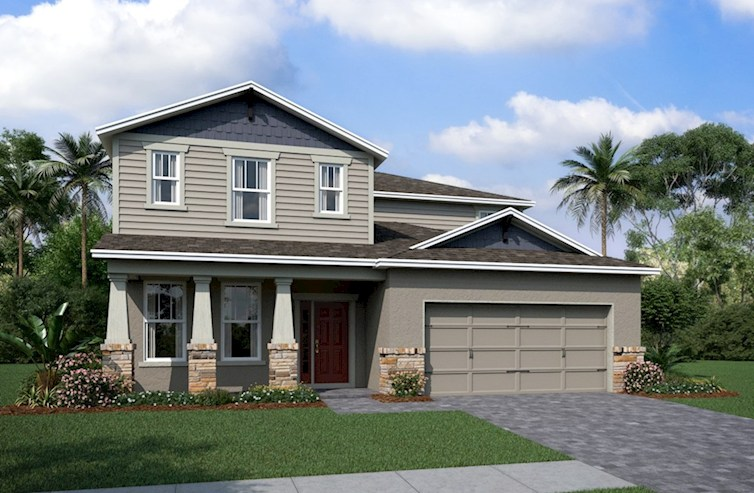 The Estero Beazer New Homes WaterSet | Apollo Beach Florida Real Estate | Apollo Beach Realtor | New Homes for Sale