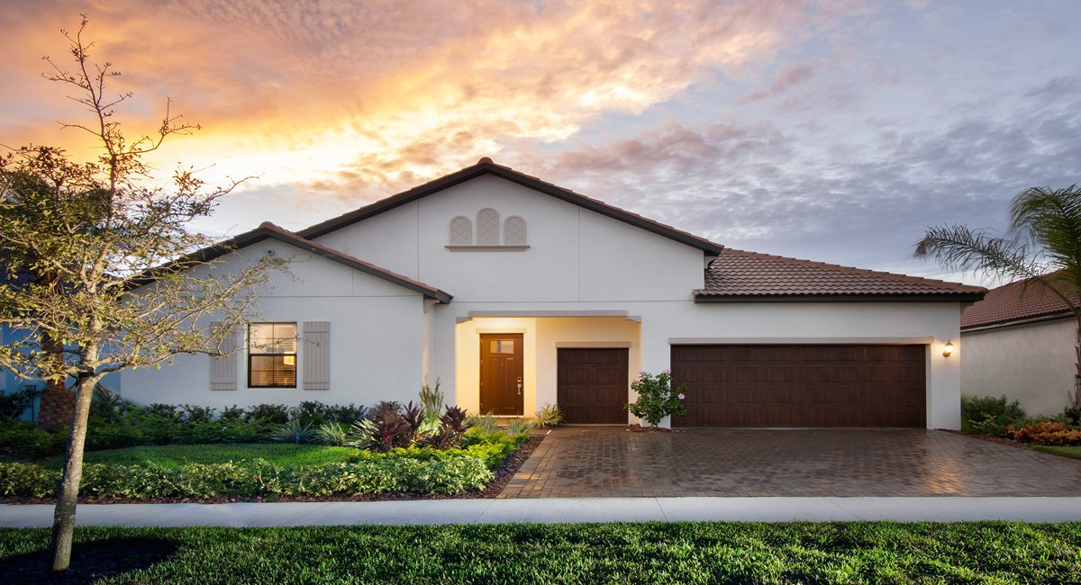 The Halos Models Lennar Active Adult Medley at Southshore Bay Wimauma Florida