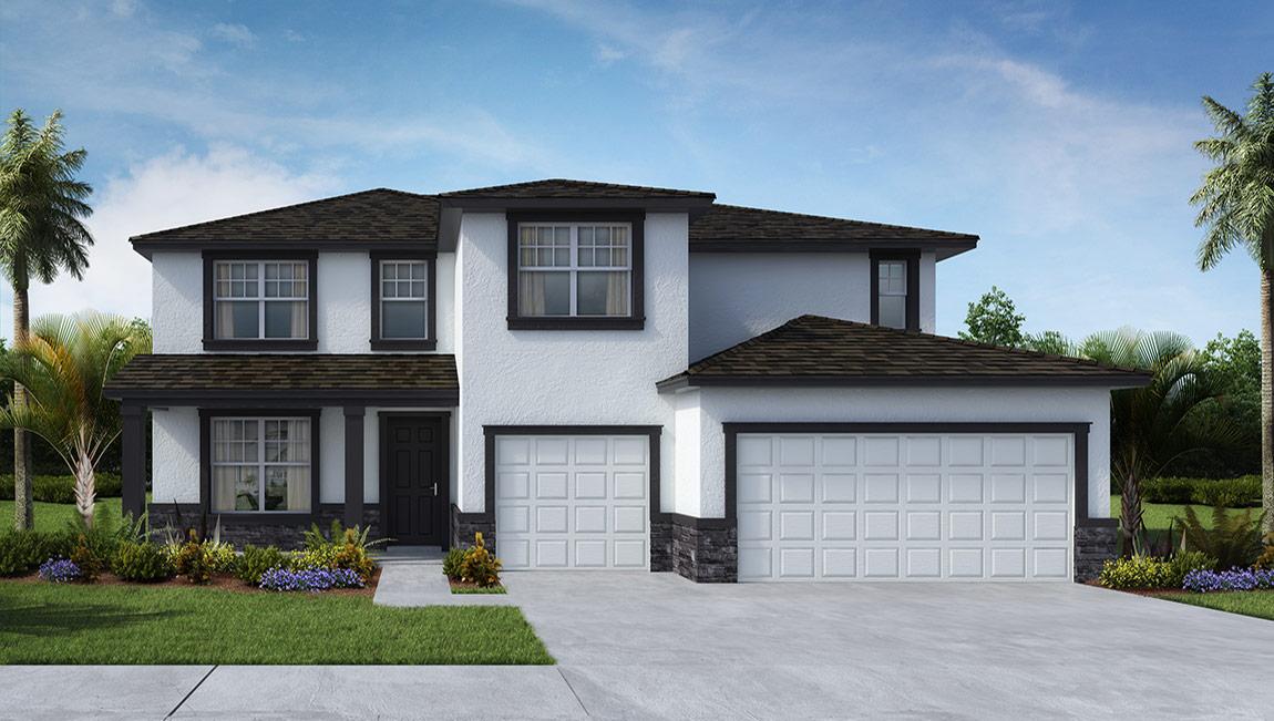 DR Horton Homes   The Jordyn 3,066 square feet 5 bed, 3 bath, 3 car, 2 story    Brooker Ridge Brandon Florida Real Estate   Brandon Realtor