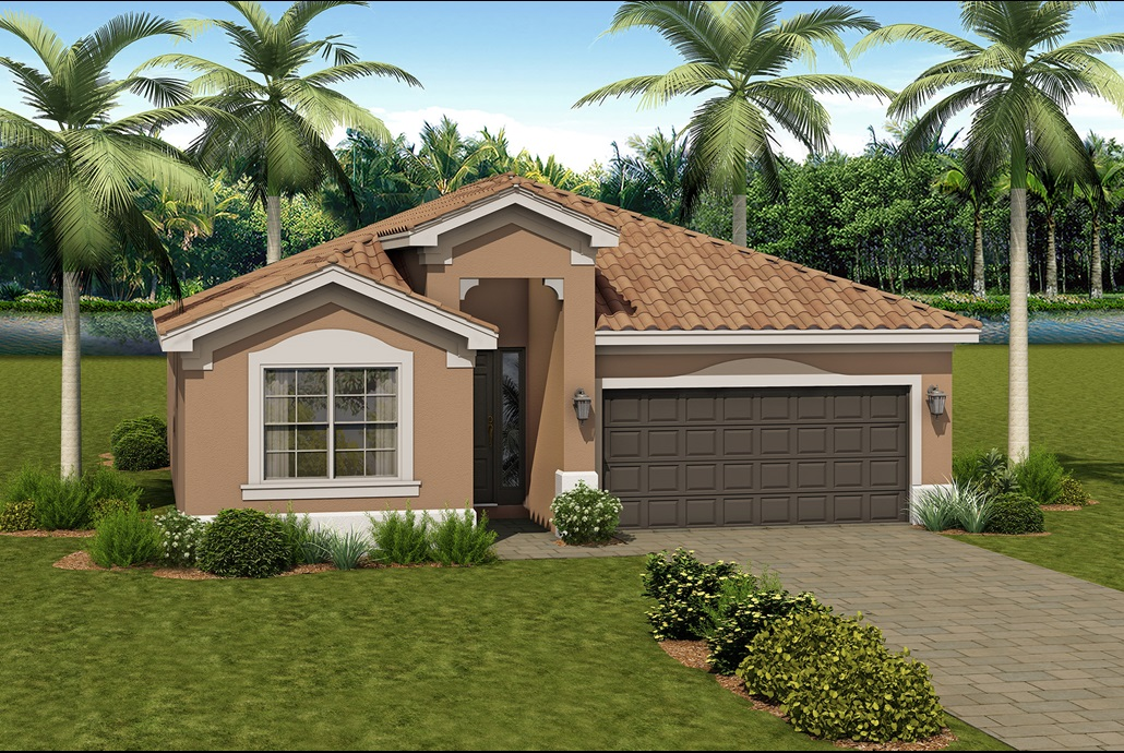 The Madrid Model Home | The Vintage Collection at Valencia del Sol in Tampa, Florida