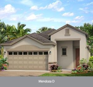 The  Mendoza  (WT) | Park Square Homes | WaterSet Apollo Beach Florida Real Estate | Apollo Beach Realtor | New Homes for Sale | Apollo Beach
