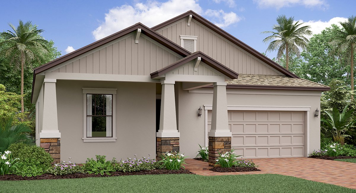 New Jersey | 3 Bed | 2.5 Bath | 2 Car |  1744 SQ | Tampa Florida