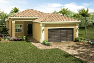 Valencia del Sol TRIBECA 3 Bedrooms 2 Bathrooms 1 Half Bath Great Room Den/Optional 4th Bedroom Screened and Covered Patio 2-Car Garage
