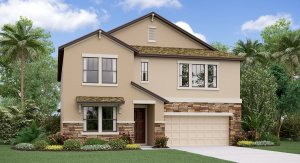 The Virginia Model Tour Lennar Homes Belmont Ruskin Florida