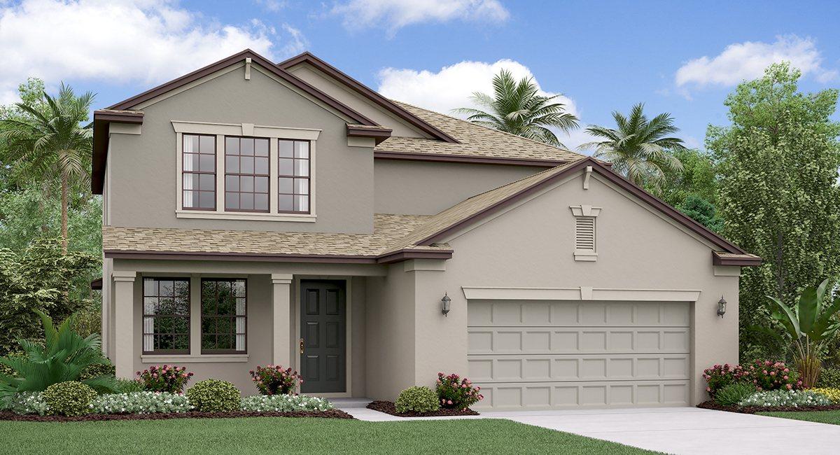 The Pennsylvania Rivercrest Lakes Lennar Homes  Riverview Florida Real Estate | Riverview Realtor | New Homes for Sale | Riverview Florida
