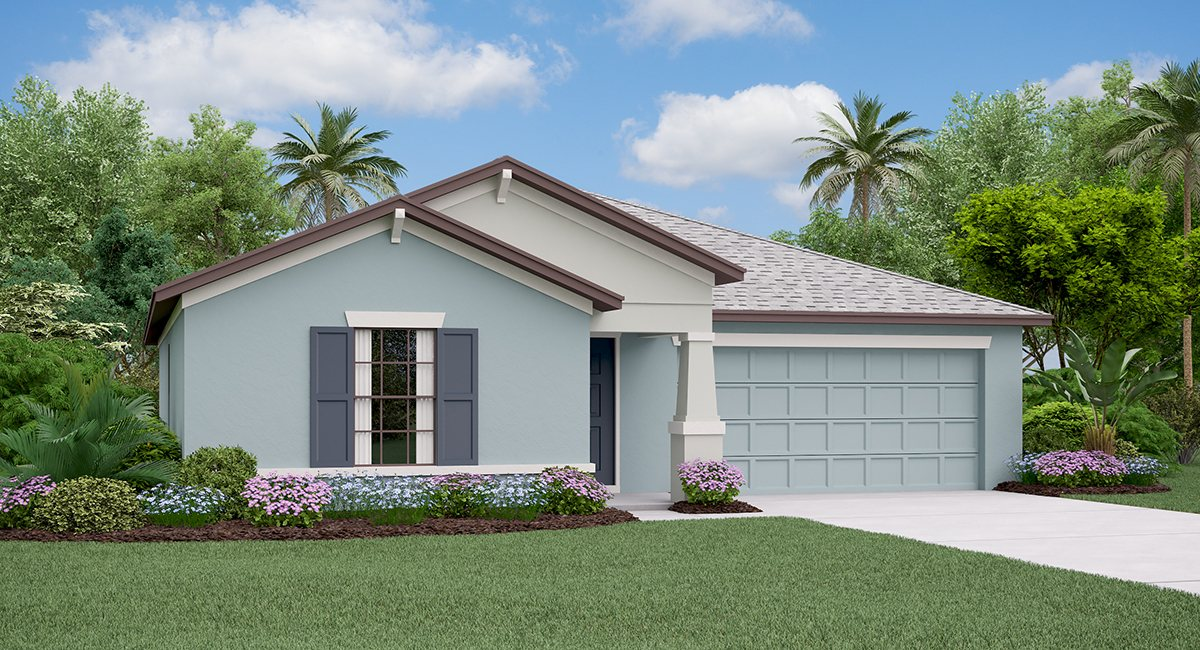 The Dover Model Tour  Lynwood Lennar Homes  Apollo Beach Florida