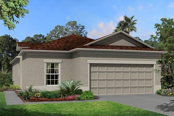 The Gardenia Homes M/I Homes  Ventana Riverview Florida Real Estate | Riverview Florida Realtor | New Homes for Sale | Tampa Florida