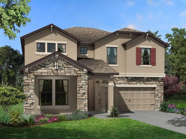 The Laguna  Homes M/I Homes  Ventana Riverview Florida Real Estate | Riverview Florida Realtor | New Homes for Sale | Tampa Florida