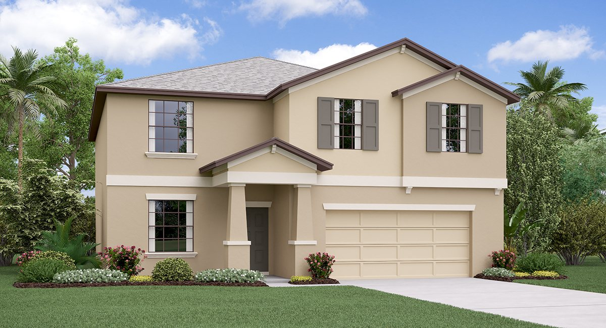 The Richmond Model Tour Lynwood  Lennar Homes  Apollo Beach Florida