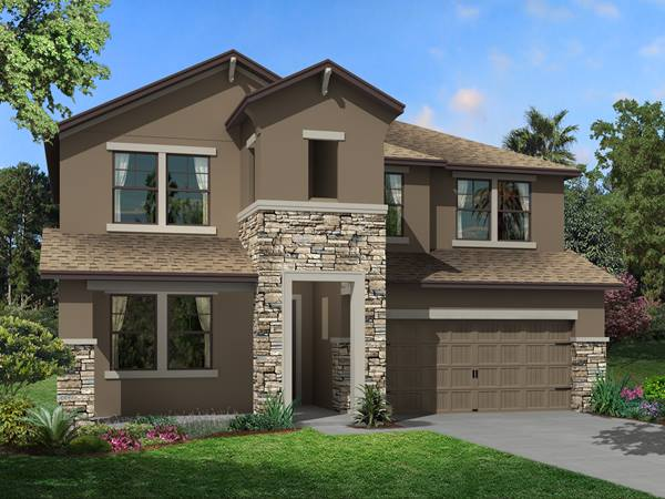 The Santa Monica Homes M/I Homes  Ventana Riverview Florida Real Estate | Riverview Florida Realtor | New Homes for Sale | Tampa Florida