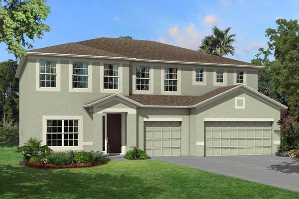 The  Santina II Homes M/I Homes  Ventana Riverview Florida Real Estate | Riverview Florida Realtor | New Homes for Sale | Tampa Florida