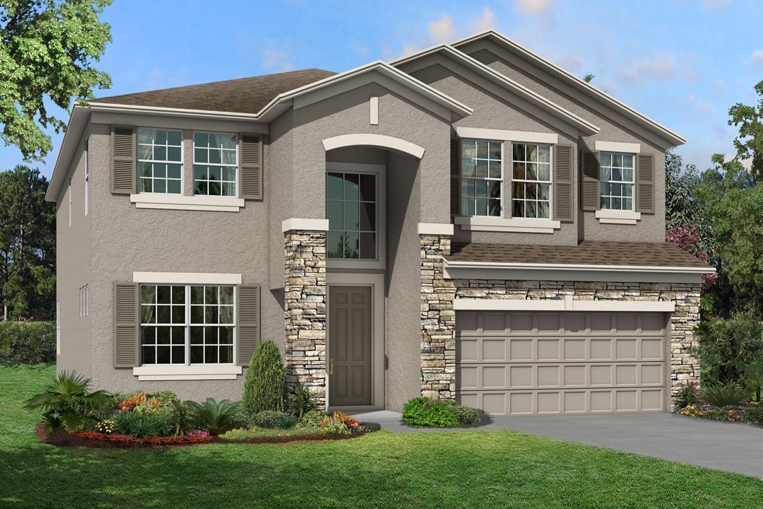 The Sonoma II  Homes M/I Homes  Ventana Riverview Florida Real Estate | Riverview Florida Realtor | New Homes for Sale | Tampa Florida