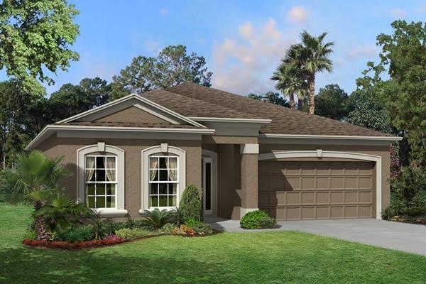 The Hartford II  Homes M/I Homes  Ventana Riverview Florida Real Estate | Riverview Florida Realtor | New Homes for Sale | Tampa Florida