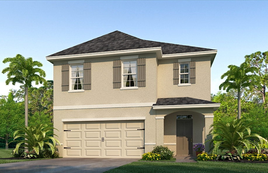 The Robie Model Tour Shell Cove New Home Community Ruskin Florida