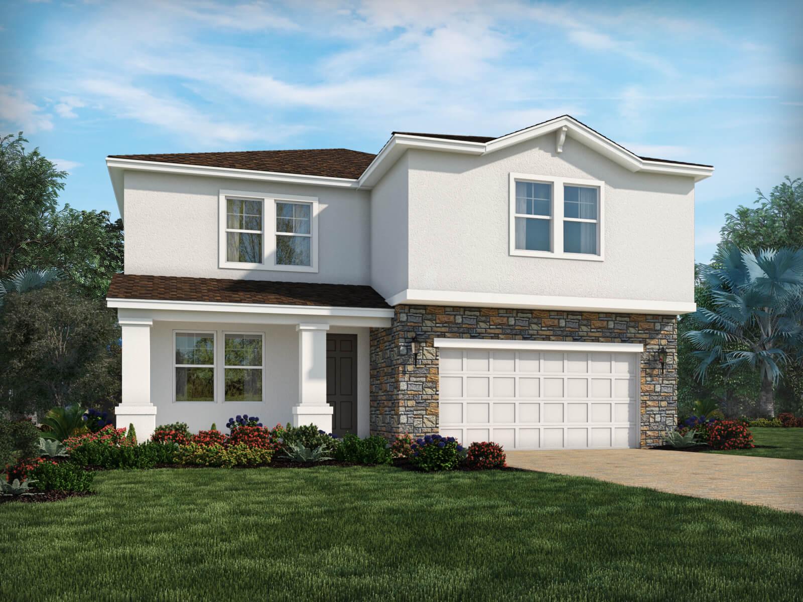 Meritage Homes New Home Community Rivervew Florida
