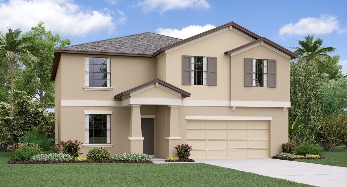 The  Richmond Model Tour South Fork: Sunstone Ridge Estates Lennar Homes Riverview Florida