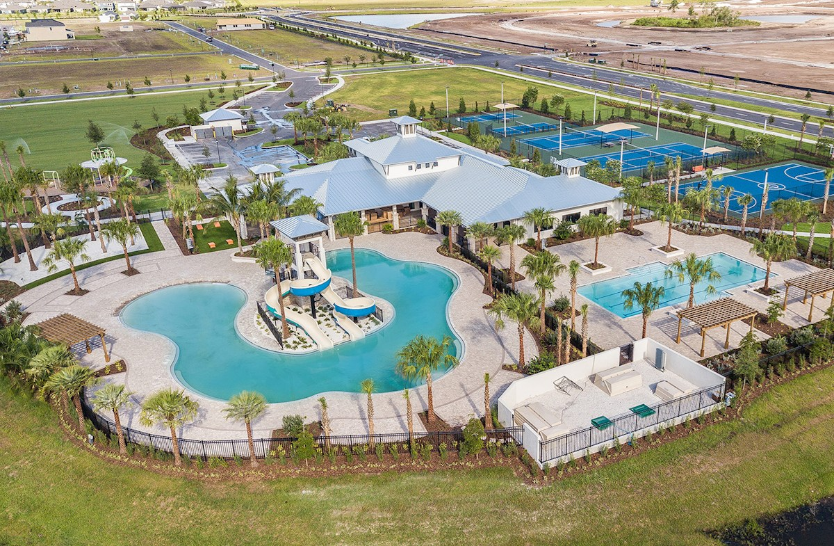The Sandpiper Model  Tour WaterSet Apollo Beach Florida