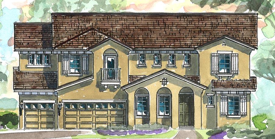 The Sanibel Model Tour Homes By Westbay FishHawk Lithia Florida