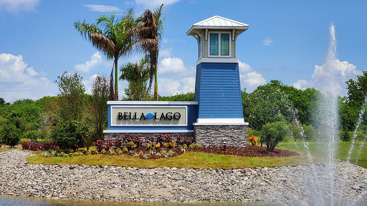 Bella Lago New Home Community Parrish Florida