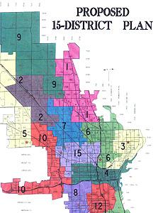 New Aldermanic District Map