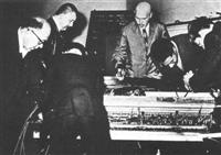 Dick Higgins performing Piano Activities in 1962