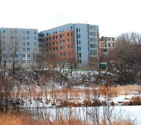 UWM's Riverview residence hall