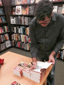 Tea Krulos book signing