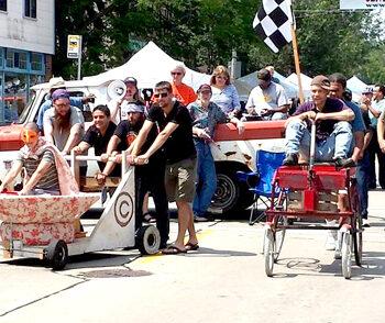 cart race 2014