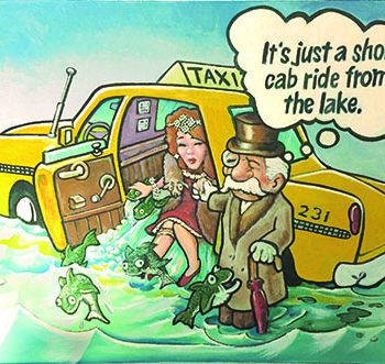 JIm Hawley Taxi to the lake
