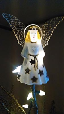 angel on my tree web