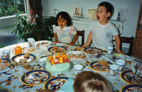 Bronwen 1st birthday party 15