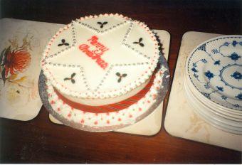 Xmas cake 1991-1