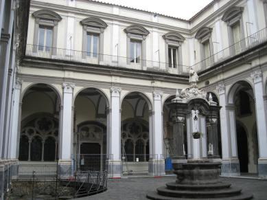 San Lorenzo Maggiore, Cloister, 1771