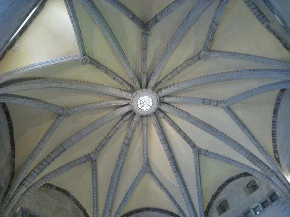 Ceiling of Barons Hall